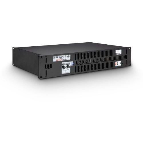 Ram Audio Zetta 215 - Końcówka mocy PA 2 x 750 W, 2 Ohm