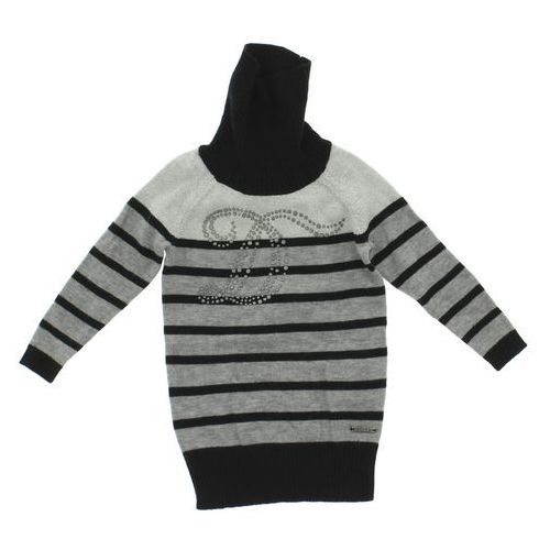 sweter dziecięcy czarny szary 6 miesięcy marki Diesel
