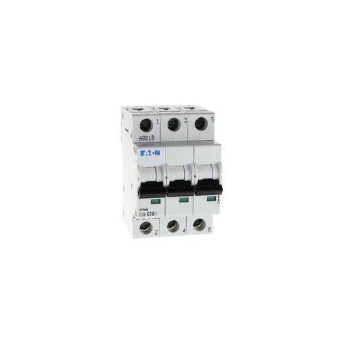 Wyłącznik nadprądowy 3P CLS6 C 10A 6kA AC 270418 Eaton Electric
