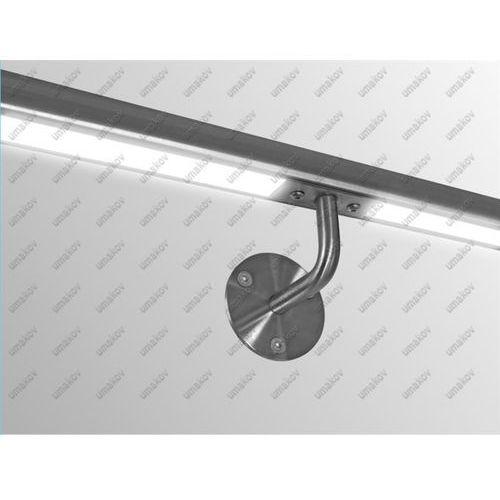 Pochwyt nierdzewny nakładany na szkło AISI304, D42