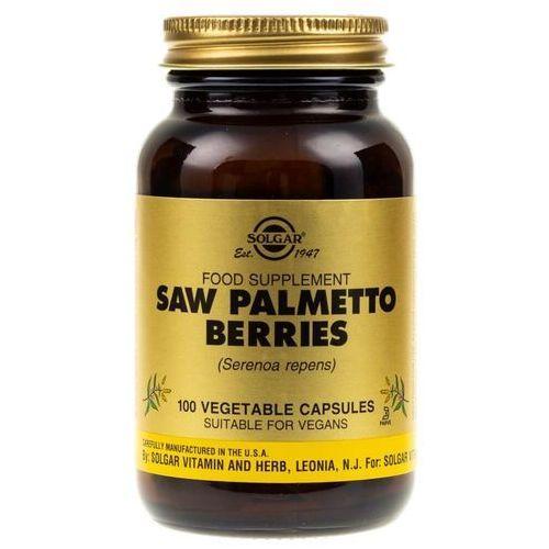 Kapsułki Solgar Saw Palmetto Berries (Palma Sabałowa) - 100 kapsułek