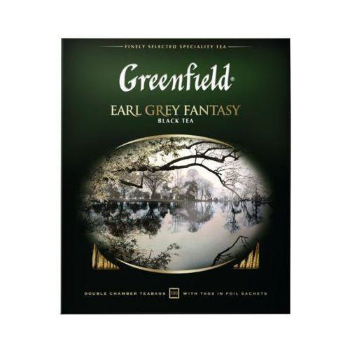 Greenfield 100x2g earl grey fantasy herbata czarna ekspresowa marki Ormi