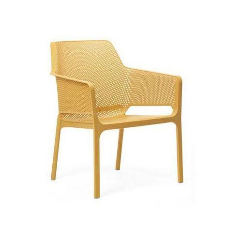 Nardi Krzesło net relax żółte