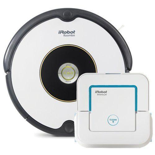 iRobot Roomba 605 + Braava JeT 240