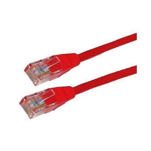 patchcord rj45   osłonka zalewana   kat. 5e   utp   1.8m   czerwony marki 4world