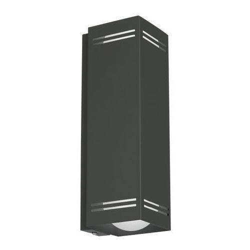 Luminex Kinkiet insert square 2 x 60 w e27 gray