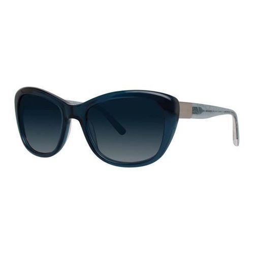 Vera wang Okulary słoneczne v447 teal crystal