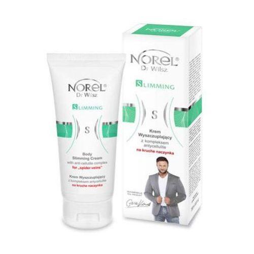 body care body slimming cream with anti cellulite complex for easy brake capillaries krem wyszczuplający z kompleksem kompleksem antycellulit na kruche naczynka (db079) marki Norel (dr wilsz)