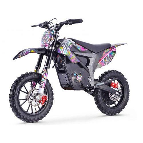 OKAZJA - Stomp Wired Pit bike elektryczny - Splatter (5902376461025)