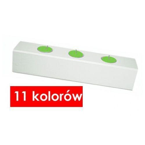 Producent: elior Drewniany świecznik skandynawski liptos - 11 kolorów