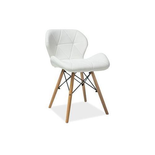 Signal Krzesło - matias - buk, 2 kolory - biały i szary zimowa promocja!