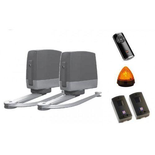 ZESTAW: napęd VersaMatic P 2 SK BiSecur (skrzydło do 3000 mm, do 300 kg) + pilot HS 5 BS (z funkcją sprawdzania statusu bramy) + para fotokomórek EL 301 + lampka LED SLK