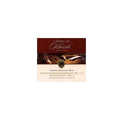 Johann Sebastian Bach - Brandenburgische Konzerte Nt. 1 - 3 / Orchestersuite Nr. 4