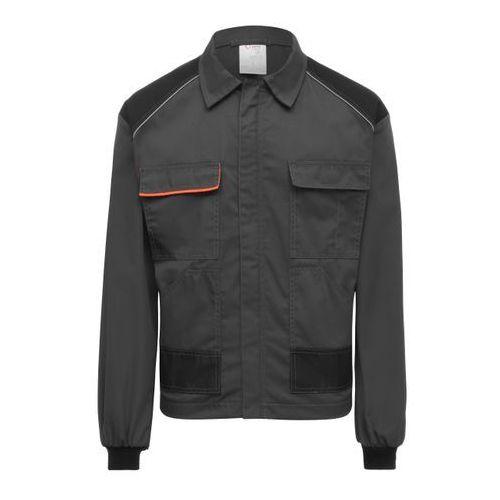 Kurtka szaro-czarna L, 160
