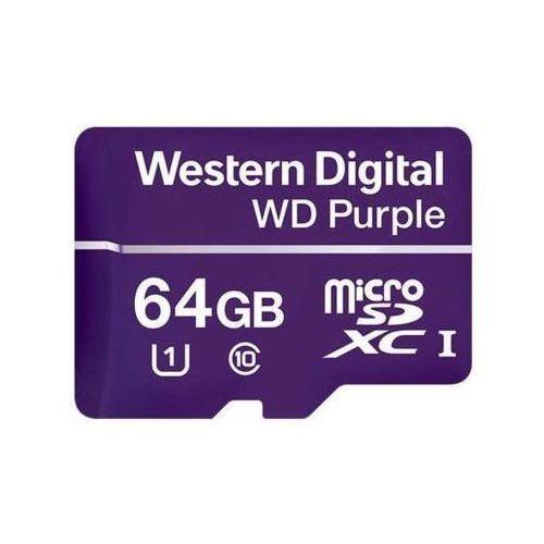 Wd purple 64gb surveillance microsd marki Western digital