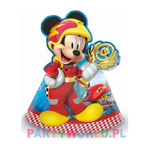 Czapeczki urodzinowe Myszka Mickey i Raźni Rajdowcy - 6 szt. (5201184879474)