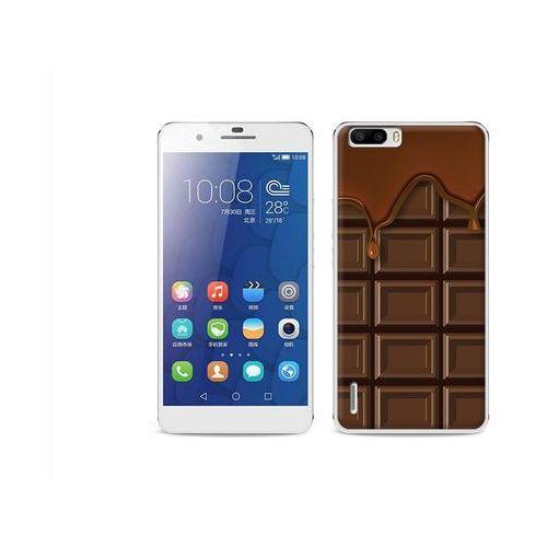 Fantastic Case - Huawei Honor 6 Plus - etui na telefon Fantastic Case - tabliczka czekolady (Futerał telefoniczny)