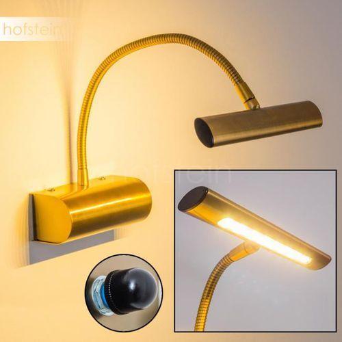 Trio Curtis 279770104 kinkiet lampa ścienna 1x4W LED 3000K stary mosiądz (4017807275346)