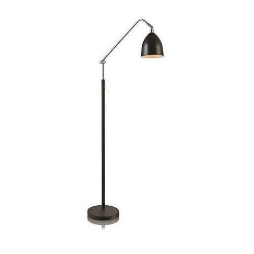 Lampa podłogowa stojąca Markslojd Fredrikshamn 1x40W E27 czarny/chrom 105023 (7330024533905)