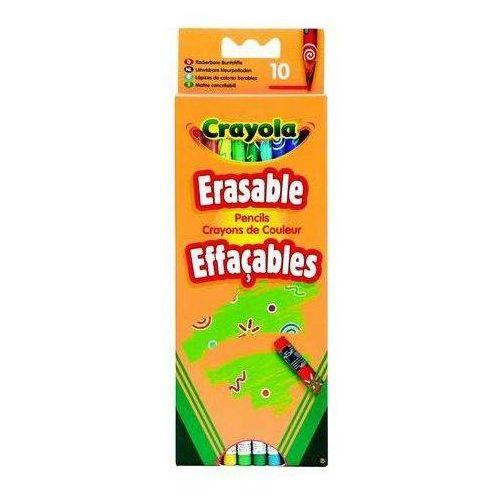 Crayola, Core, Kredki ołówkowe, ścieralne, 10 szt. (5010065036352)