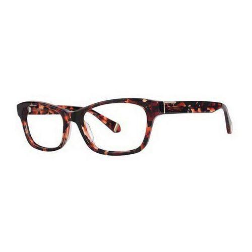 Okulary korekcyjne elsa red tortoise marki Zac posen