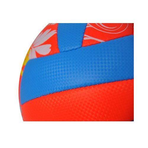 Piłka do siatkówki sorento - pomarańczowy/niebieski wyprodukowany przez Axer sport
