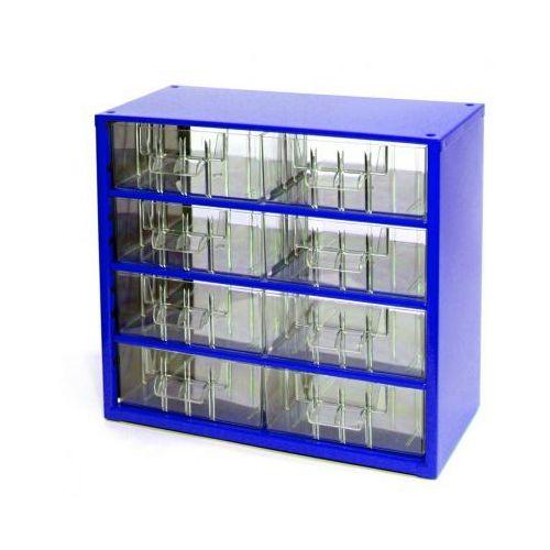 Mars Metalowe szafki z szufladami, 8 szuflad (8595004167641)