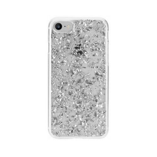 Flavr Etui iplate flakes do apple iphone 6/6s/7/8 srebrny (28437)