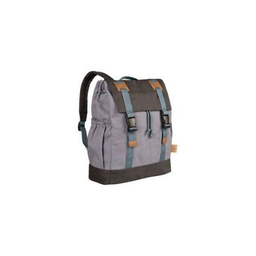 LÄSSIG 4Kids Mały plecak - Little One & Me Backpack kolor szary (4042183343723)