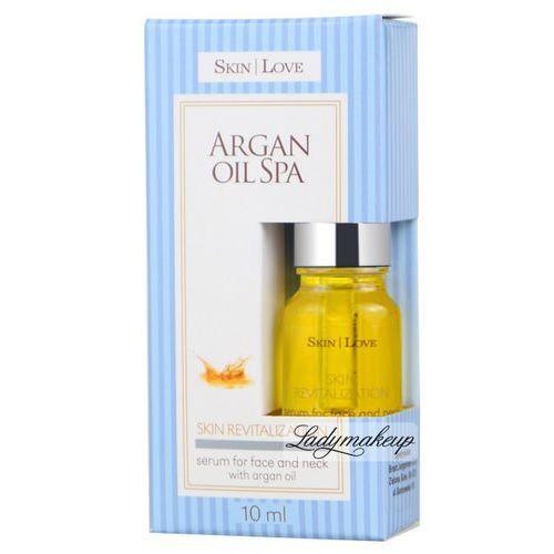 - argan oil spa - serum for face and neck - serum do twarzy i dekoltu z olejem arganowym, marki Skin love