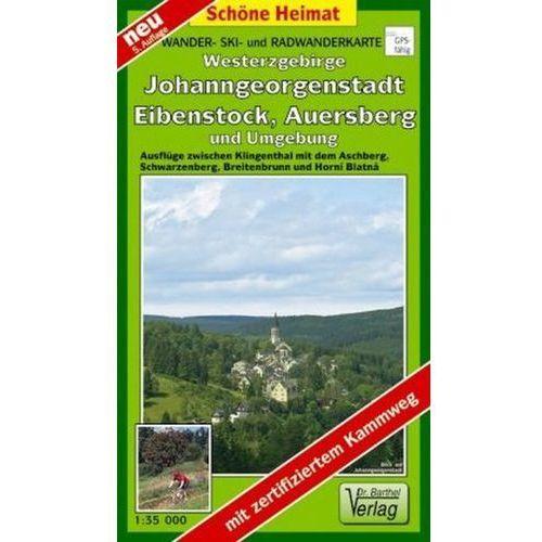 Doktor Barthel Karte Westerzgebirge, Johanngeorgenstadt, Eibenstock, Auersberg und Umgebung (9783895910203)