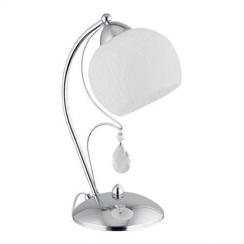 Lemir Brenta lampa stołowa 1 pł. / chrom, dodaj produkt do koszyka i uzyskaj rabat -10% taniej! (5902082862826)
