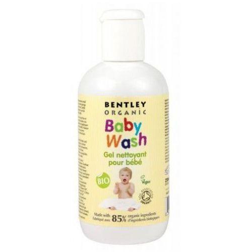 Alphanova Dziecięcy żel do mycia i szampon z aloe vera, rumiankiem i lawendą bentley organic