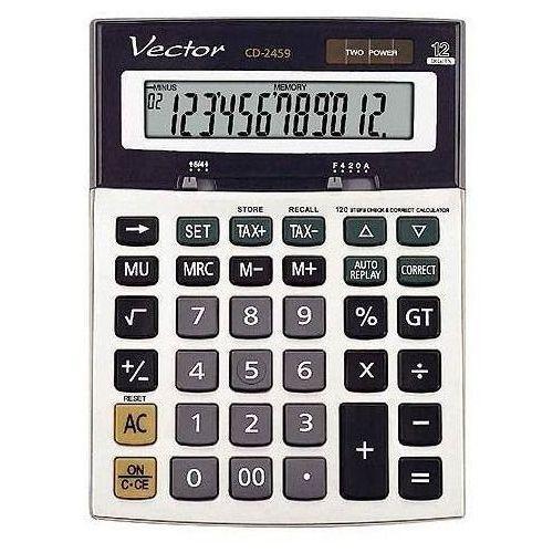Kalkulator VECTOR CD-2459 z kategorii Kalkulatory