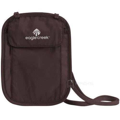 undercover neck wallet saszetka podróżna na szyję / portfel / brązowa - mocha marki Eagle creek