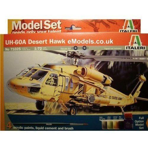 Italeri uh-60a desert ha wk gift set