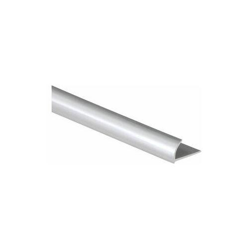 Profil do glaury zewnetrzny półokrągły pvc 12 mm / 2.5 m srebrny marki Standers