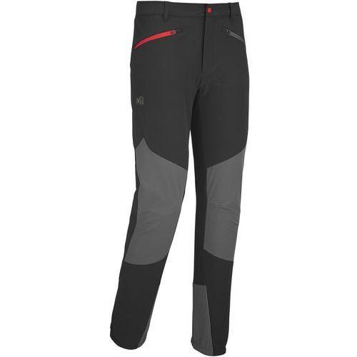 summit spodnie długie mężczyźni szary/czarny xl 2018 spodnie wspinaczkowe marki Millet