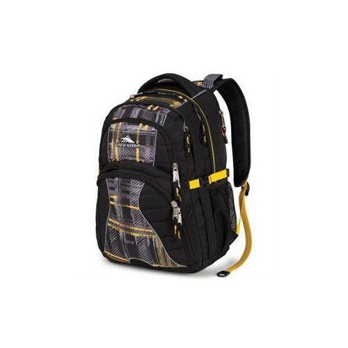 High sierra 60211 0964 plecak swerve do noteb. 16,4'' czarny/żółty