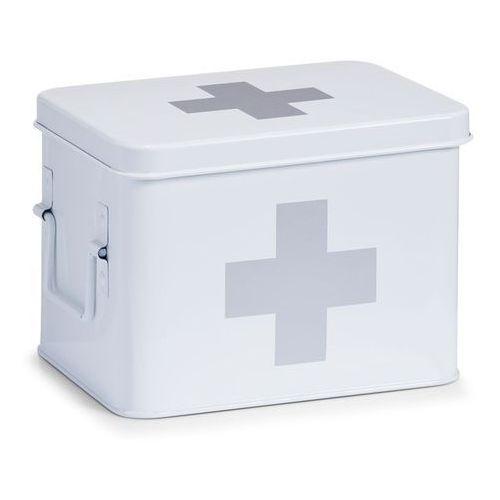 Zeller Metalowa apteczka, pudełko medyczne, 22x16x16 cm,