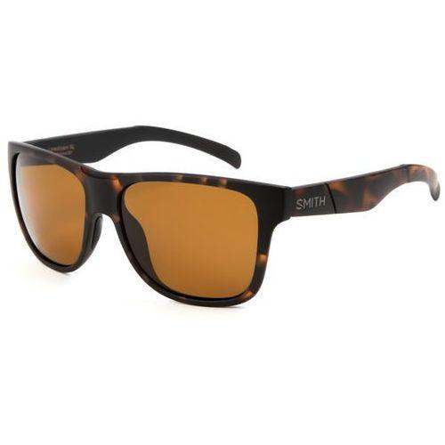 Okulary Słoneczne Smith LOWDOWN XL Polarized SST/F1, kolor żółty