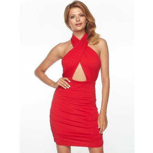 Sukienka Salma w kolorze czerwonym