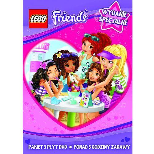 LEGO Friends. Części 1-3. DVD, towar z kategorii: Seriale, telenowele, programy TV