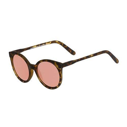 Spektre Okulary słoneczne stardust savana sts02aft/havana (rose gold mirror)