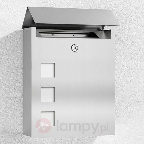Cmd creativ metalldesign gmbh Szlachetna skrzynka na listy ulani ze stali (4260045641583)