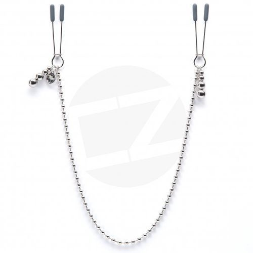 FSoG - At My Mercy Chained Nipple Clamps - produkt z kategorii- Pozostałe BDSM