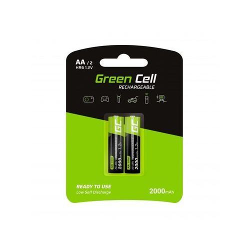 Green Cell Akumulator Green Cell 2x AA HR6 2000mAh (5903317225867)