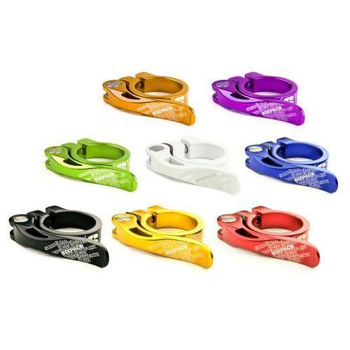 Sixpack Zacisk sztycy podsiodłowej Menace Sztyca 31,8mm kolorowy Akcesoria do sztyc (4260302177749)