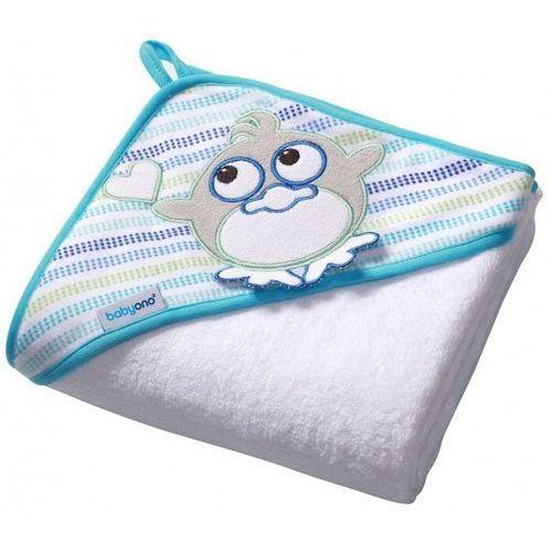 Babyono Ręcznik, okrycie kąpielowe frotte ptaszek 100x100cm (5901435404966)