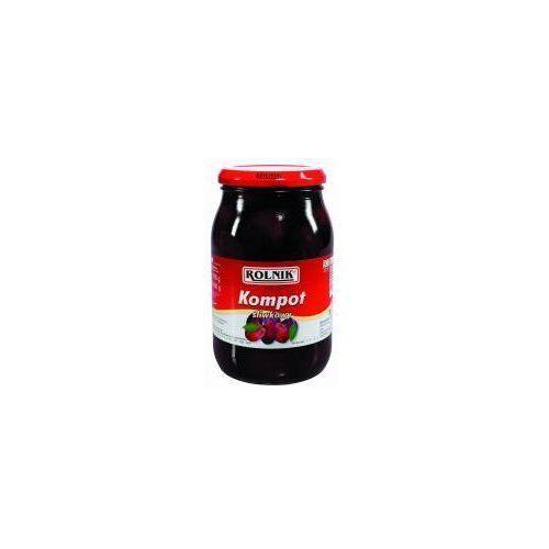 Kompot śliwkowy 900 ml Rolnik